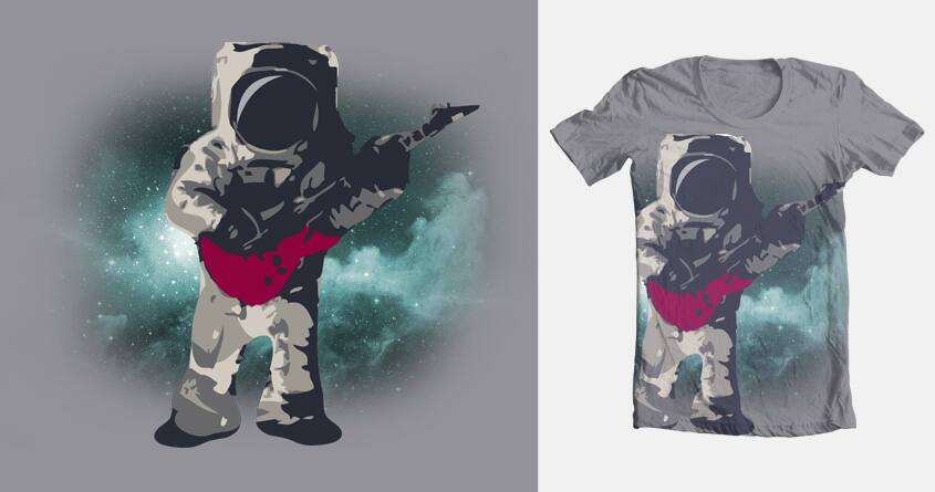 Space Astrounaut  by 53LV3M on Threadless