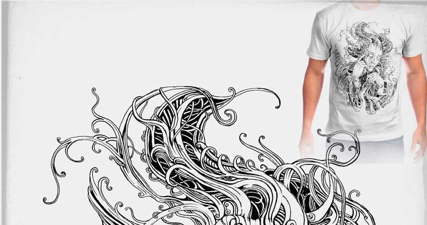 It's all in your head. by tolagunestro on Threadless