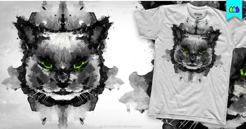 I AM CRAZY ABOUT CATS ! by S-3 on Threadless