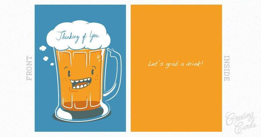 I've beer thinking of you.. by ivejustquitsmoking on Threadless