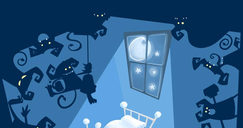 Shadow Monsters Party by Fantaside on Threadless