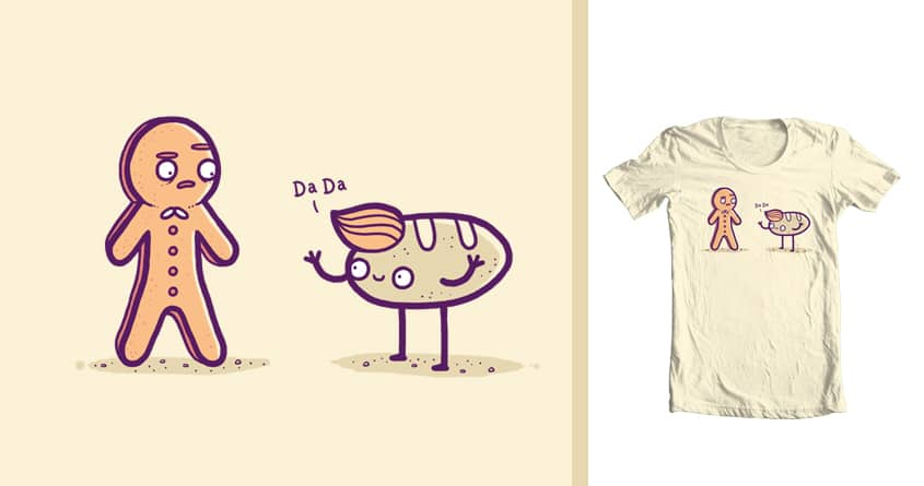 Gingerbread man by randyotter3000 on Threadless