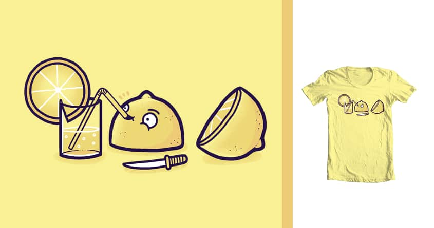 Lemon drink by randyotter3000 on Threadless