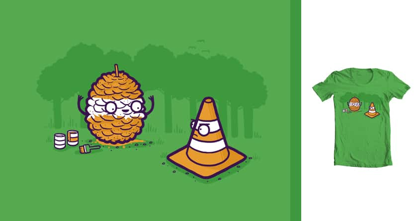 Pine cone by randyotter3000 on Threadless