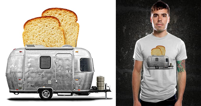 Camper Toaster V.2 by kooky love on Threadless