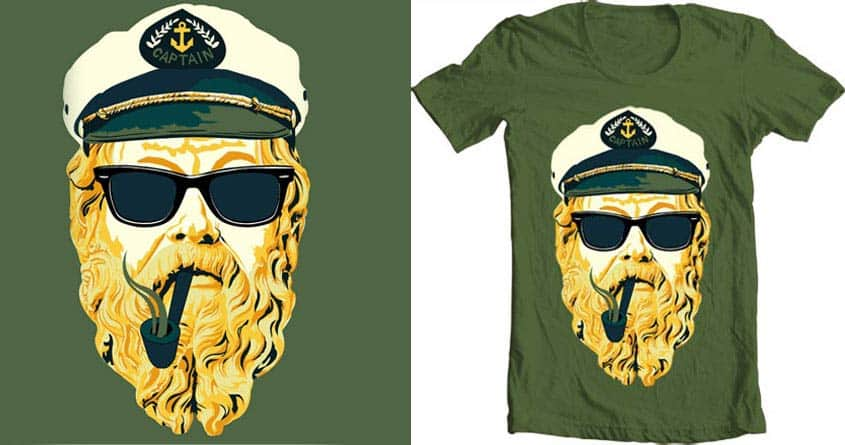 Captain SocraTees by shensel on Threadless
