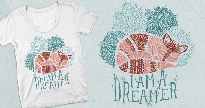 Dreamer by danielleroxanne on Threadless
