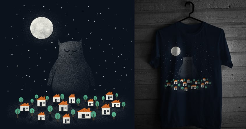 The Guardian by coyote_alert on Threadless