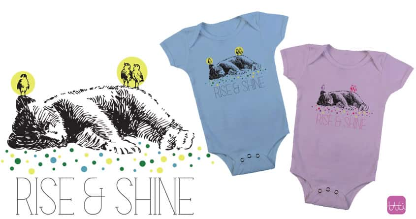 Rise and Shine by Tati Abaurre on Threadless