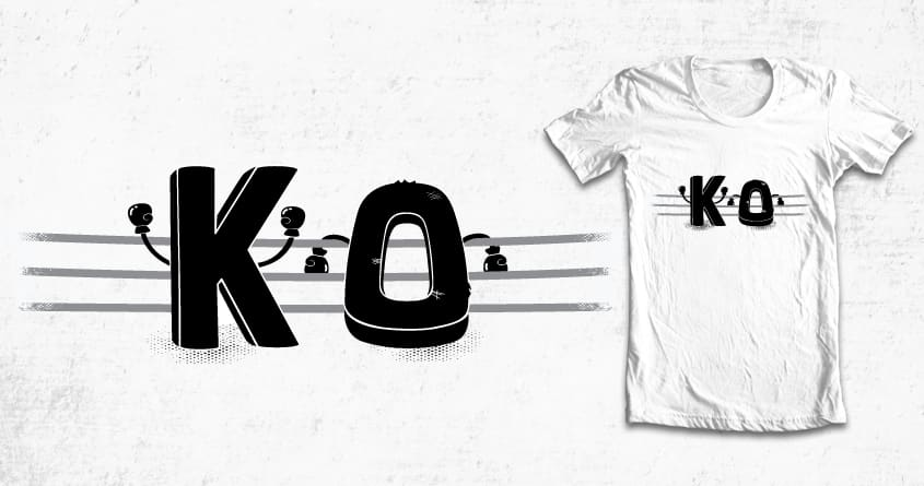 Knockout by weird&co on Threadless