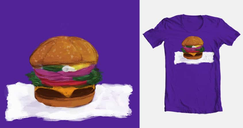 Burger by Kcr0w on Threadless