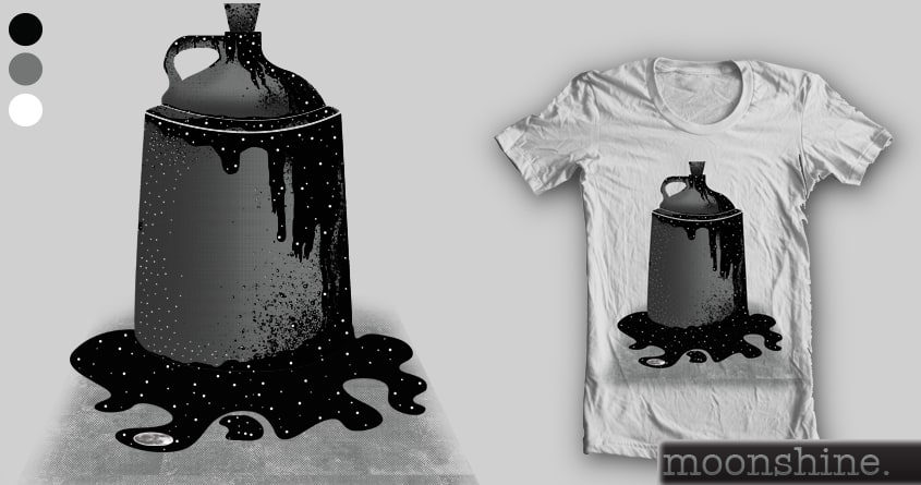 Moonshine by JIMDAHOUSECAT on Threadless