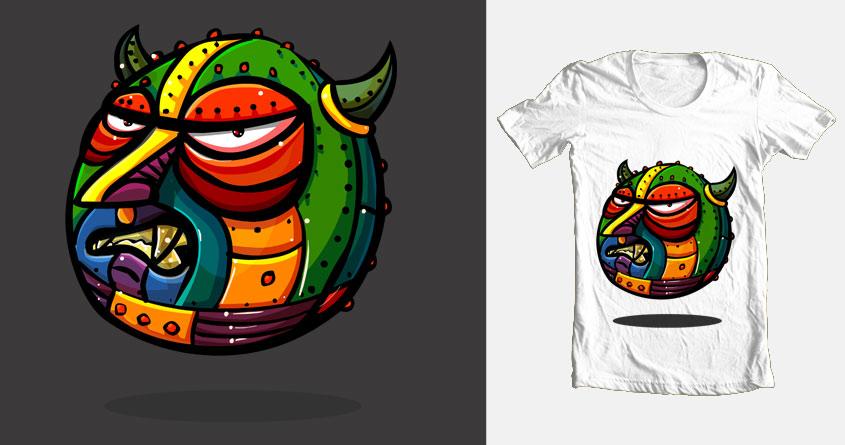 Monster's Ball by whackonondo on Threadless