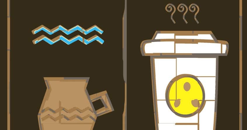 Coffee Glyphics by J CHILL on Threadless
