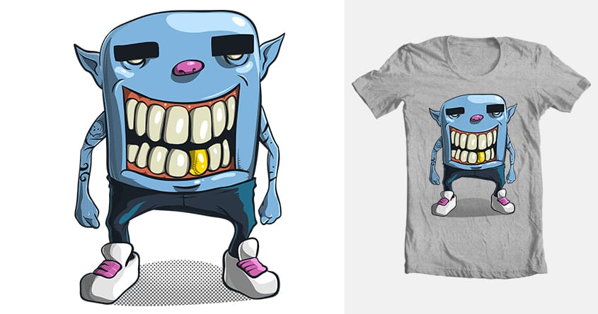 Monster with pants by gomilol on Threadless