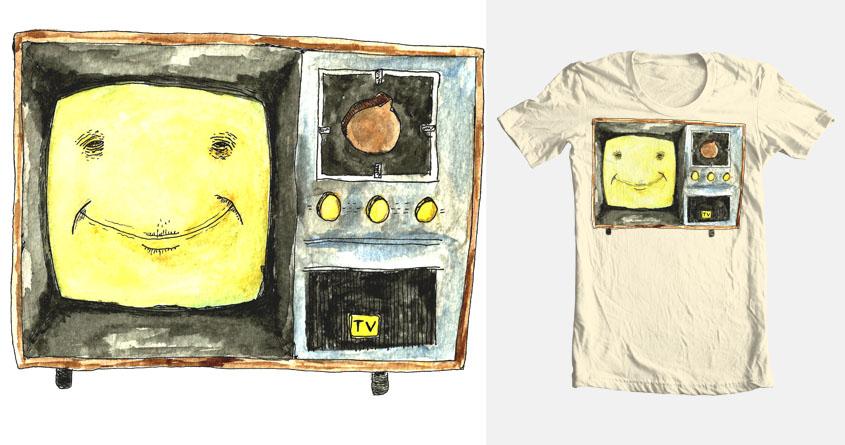 Mr. TV by chrisfanelli on Threadless