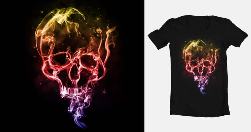 Smoke Skull by neth1100 on Threadless