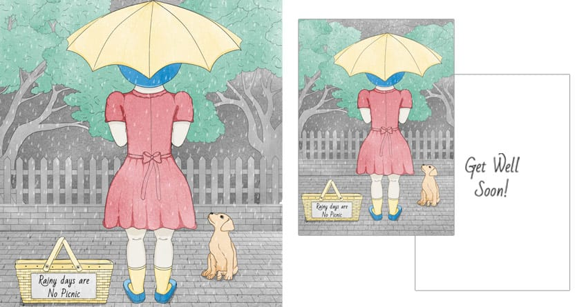 Rainy Days are no picnic by soloyo and Dreamspace on Threadless