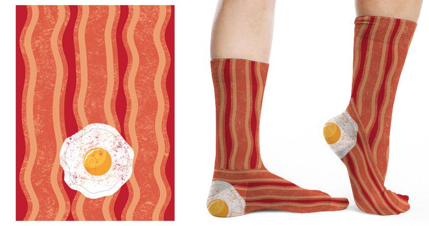 Bacon & Eggs by lanvinpierre on Threadless