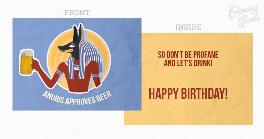 Happy Beerthday by cicca on Threadless