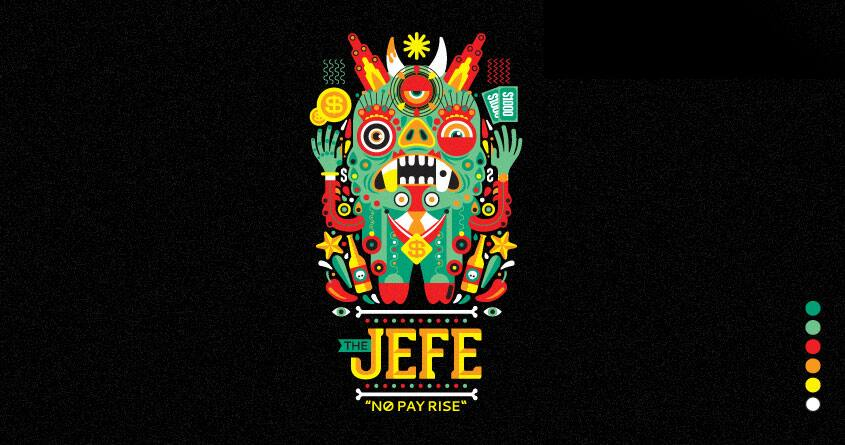 "The ""Jefe"" by Chamuko on Threadless"
