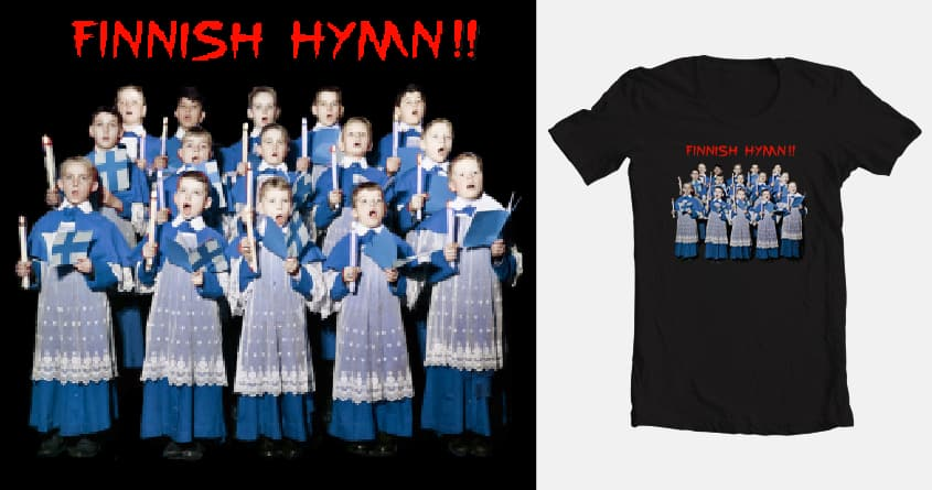 Finnish Hymn!! by aled and Woss on Threadless