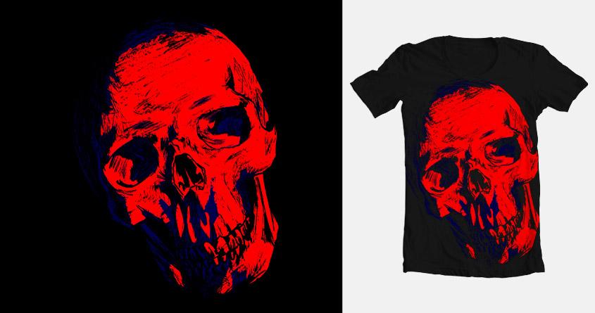 Skull by Santanars on Threadless