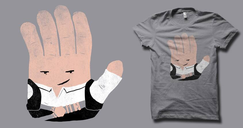 Hand Solo by biotwist on Threadless