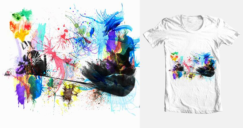 Cats Hate Watercolor by Lachy Balboa on Threadless