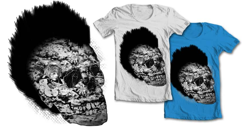 Skull of Spirits by Chompy84 on Threadless