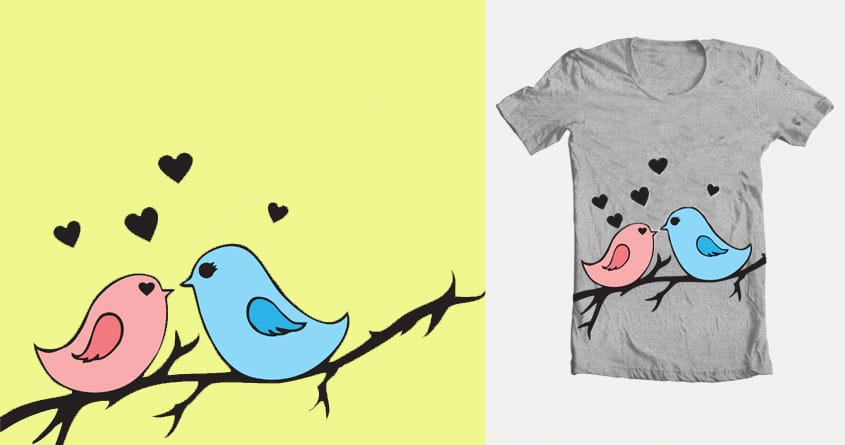 Love Birds by hmssophia on Threadless