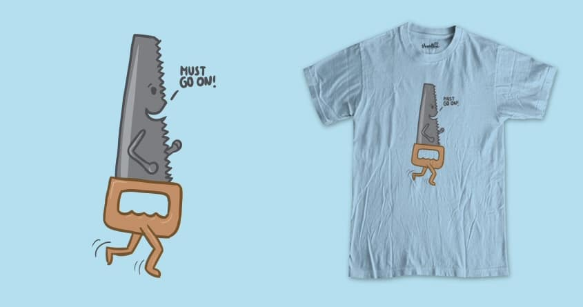 He must! by nyenyerejunior on Threadless