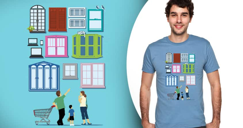 Window Shopping by zulfinaAM on Threadless