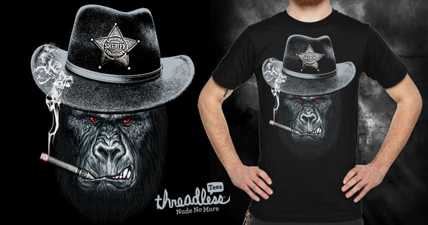 Sheriff by chingmoncheng on Threadless