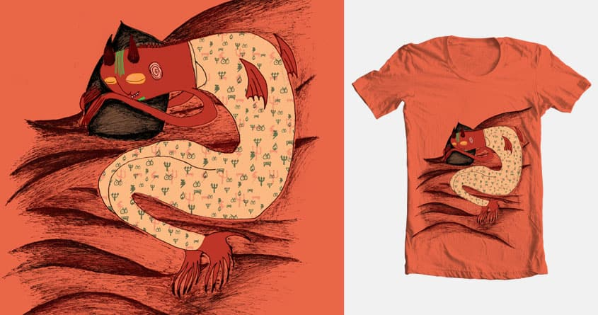 Shhh, he's sleeping. by Ursulla on Threadless