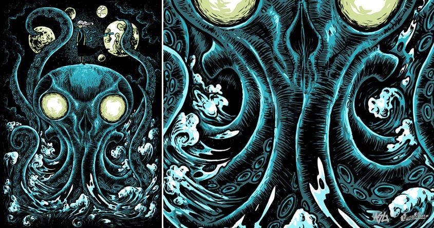 Seabeast by David Maclennan on Threadless