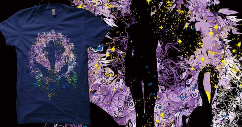 the awakaning of beauty by kharmazero on Threadless