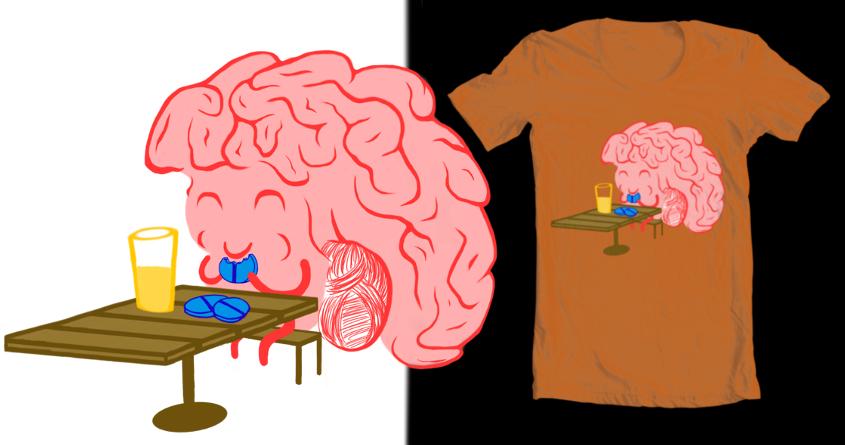 Brain Food by dansyuqri on Threadless