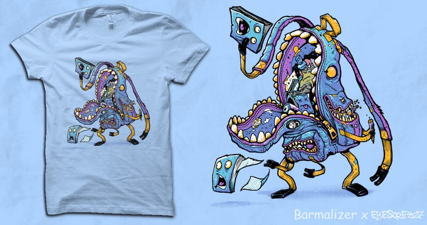BACKPACK MONSTER by barmalisiRTB and Eyesore427 on Threadless