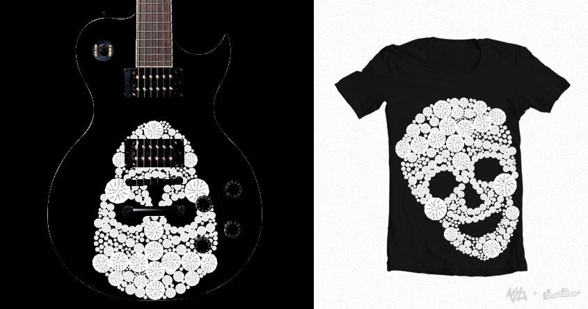 Diamonds Skull by 0ana on Threadless