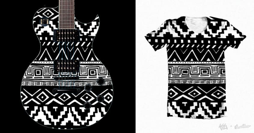 Aztec Madness by Alicewolves on Threadless