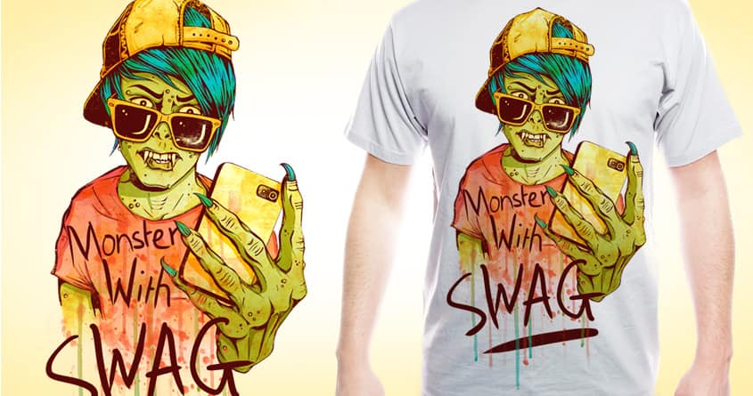 Monster with SWAG by sweet-chilli-philly on Threadless