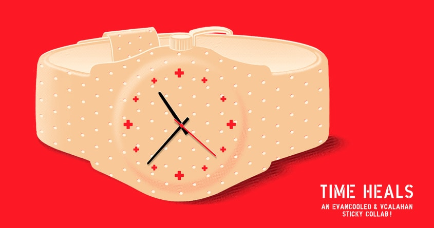 Time Heals by v_calahan and Evan_Luza on Threadless
