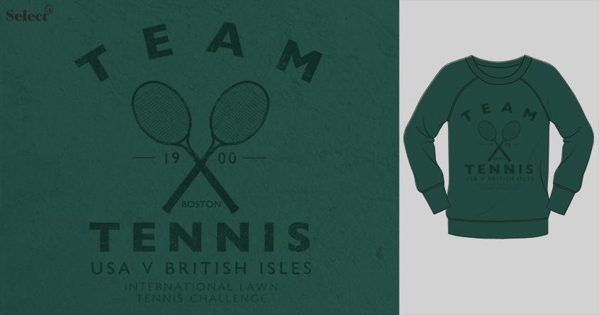 Team Tennis by Farnell on Threadless