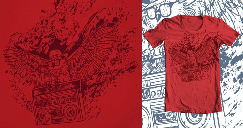 Nightflight by hersh on Threadless