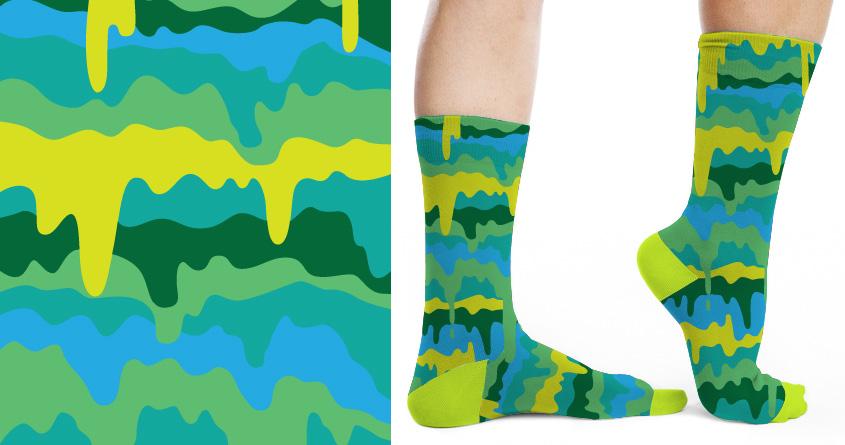 Slimey Socks by speedyjvw on Threadless