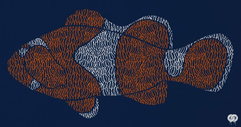 Clownfish by messing on Threadless