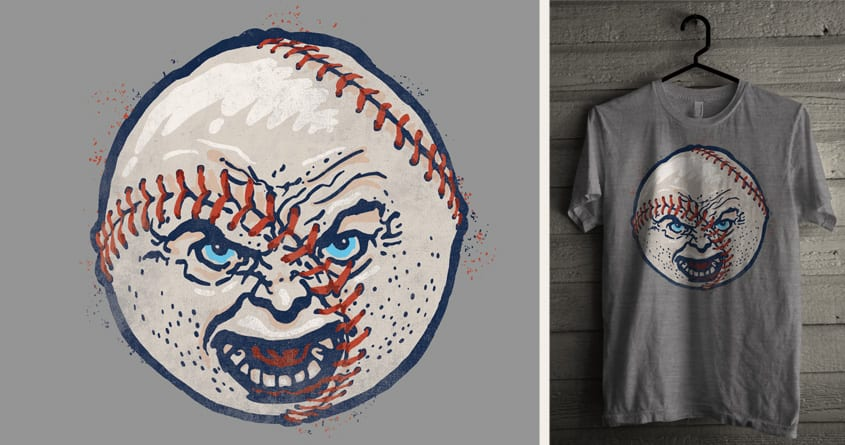 Baseball on Steroids by arzie13 and Mr Rocks on Threadless