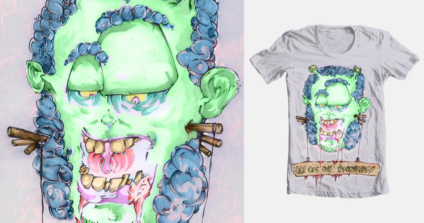 We are all.. monsters!! by sober__ on Threadless