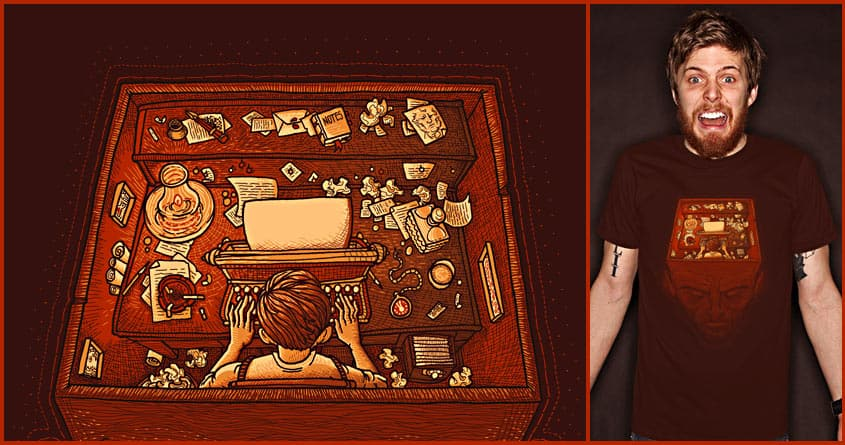 Writer's Block by L-M-N-O-P and soloyo on Threadless